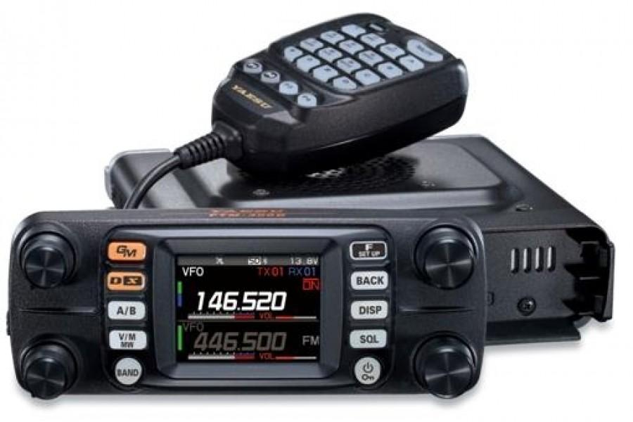 FTM-300DR FTM-300 FTM300 Yaesu Original 50W C4FM//FM 144//430MHz Dual-Band Digital Mobile Transceiver
