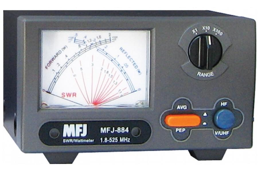 MFJ-884 Cross-Needle SWR Watt Meter